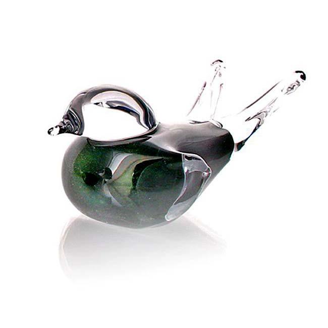Mini Vogel Urn Groen Aventurijn (0,05 liter)