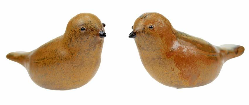 Vogel Urn Jack, Oranje-Bruin (0.06 liter)