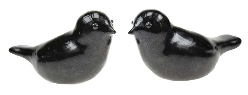Vogel Urn Ravelijn, Zwart-Antraciet (0.06 liter)
