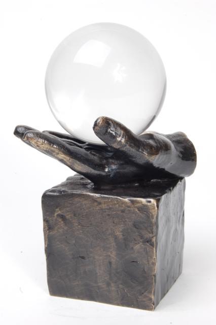 Asbeeldje In Hogere Sferen, Brons (0.04 liter)