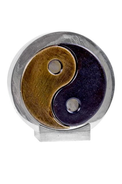 Asbeeldje Yin Yang, Zilver (0.08 liter)