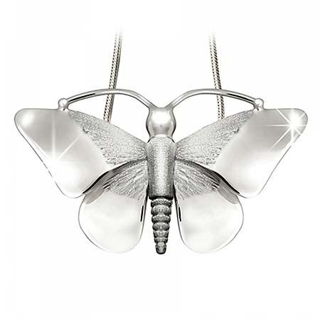 Ashanger Vlinder Zilver
