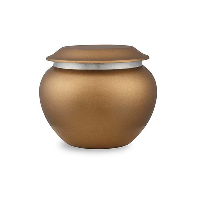 Mini Pakoda Dierenurn Chestnut (0.35 liter)