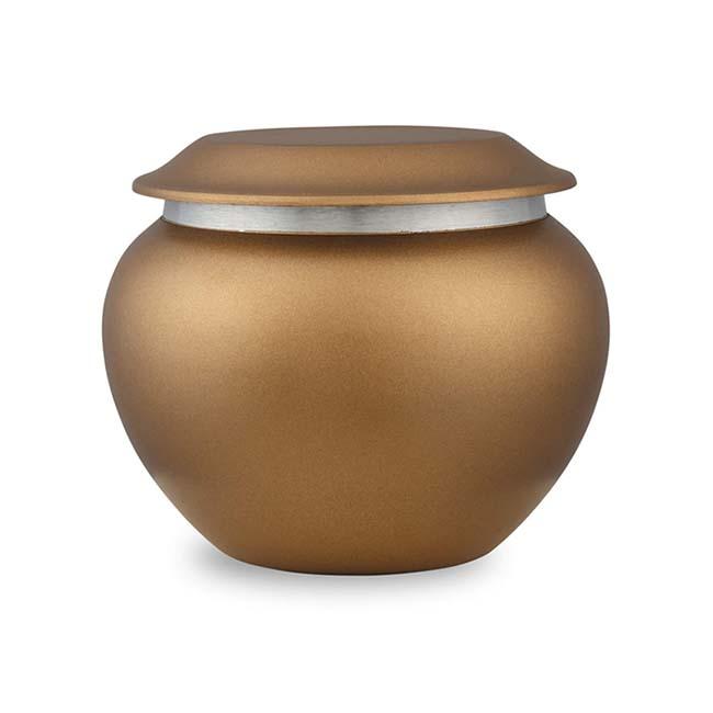 Medium Pakoda Dierenurn Chestnut (0.9 liter)