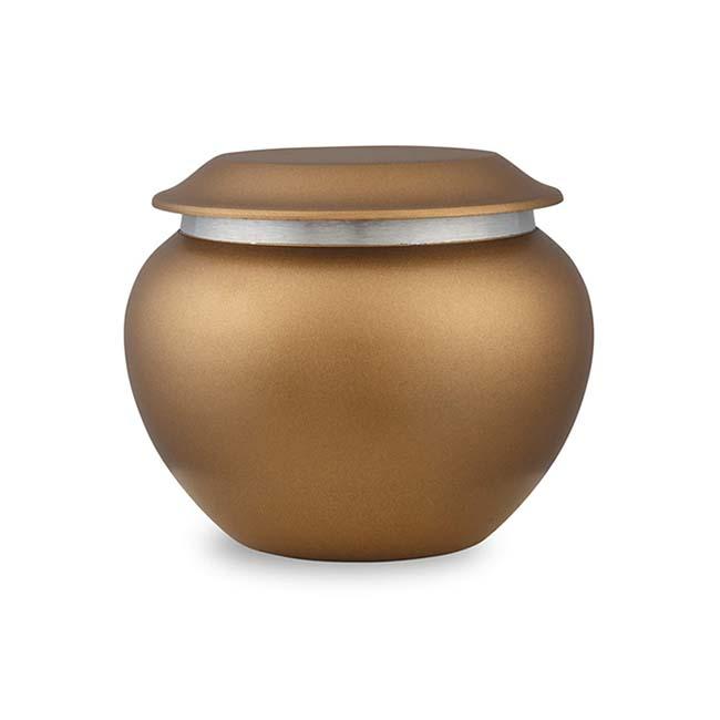 Kleine Pakoda Dierenurn Chestnut (0.5 liter)