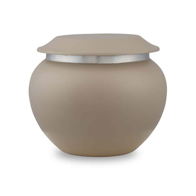 Medium Pakoda Dierenurn Sand (0.9 liter)