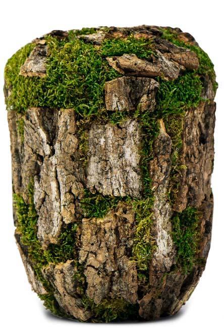 Biologisch Afbreekbare Eco Urn Kurkeik Mos (4 liter)
