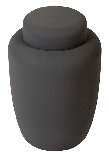 Biolologisch Afbreekbare Eco Urn Matzwart (3.9 liter)