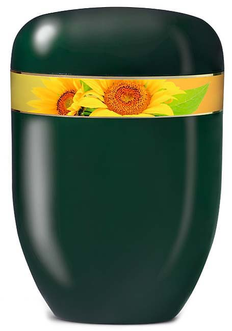 Biologisch Afbreekbare Eco Urn Zonnebloemen (4 liter)