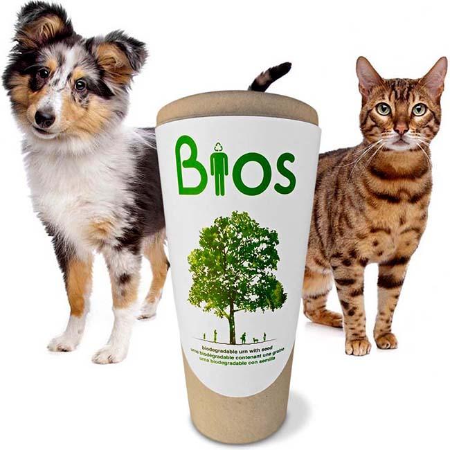 Biologisch Afbreekbare Bios Dieren Urn (3 liter)