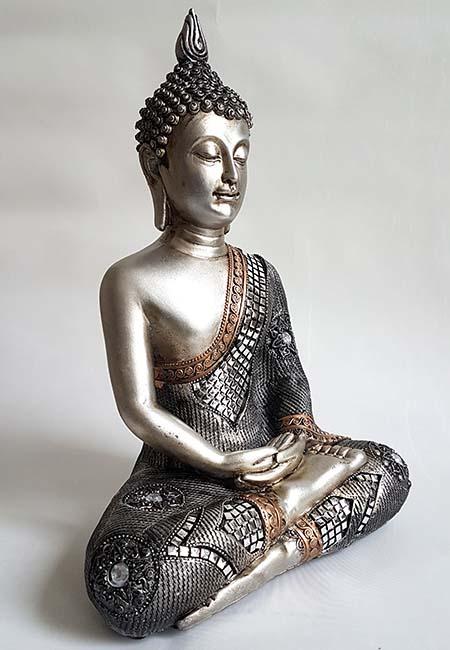 Kleine Thaise Meditatie Boeddha Urn (1 liter)