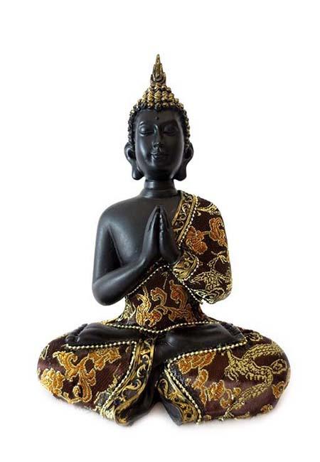 Thaise Namaste Mudra Boeddha Miniurn  (0.4 liter)