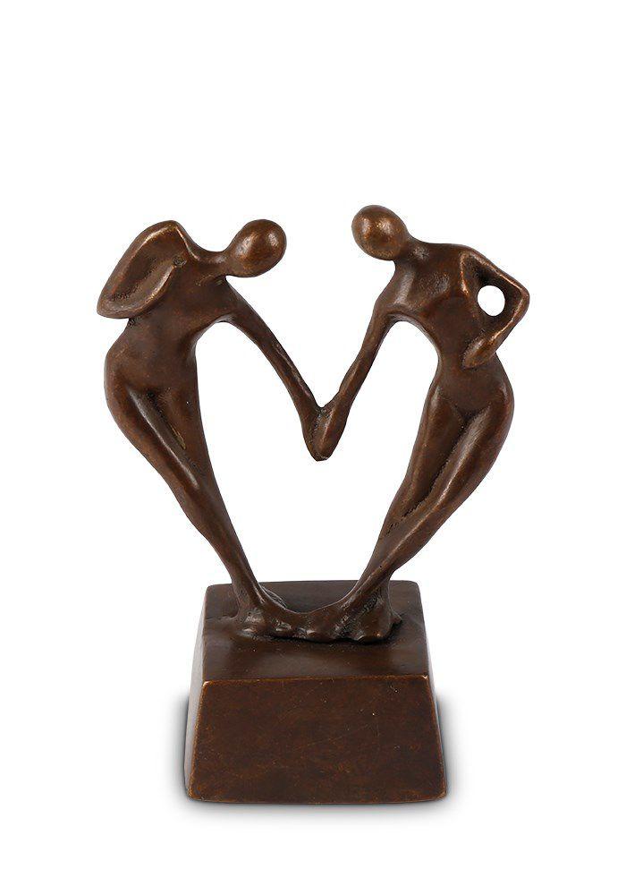 Bronzen Miniurn Liefdespaar (0.065 liter)