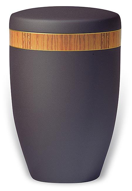 Design Urn met Beuken houtnerf sierband (4 liter)