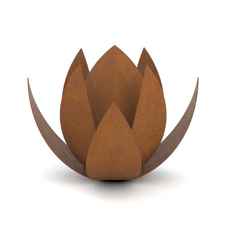 RVS Lotus Dieren Urn Large (1.9 liter)