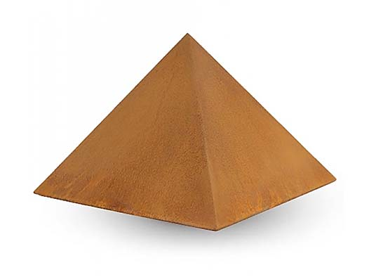 RVS Piramide Urn (8 liter, geschikt als duo urn)