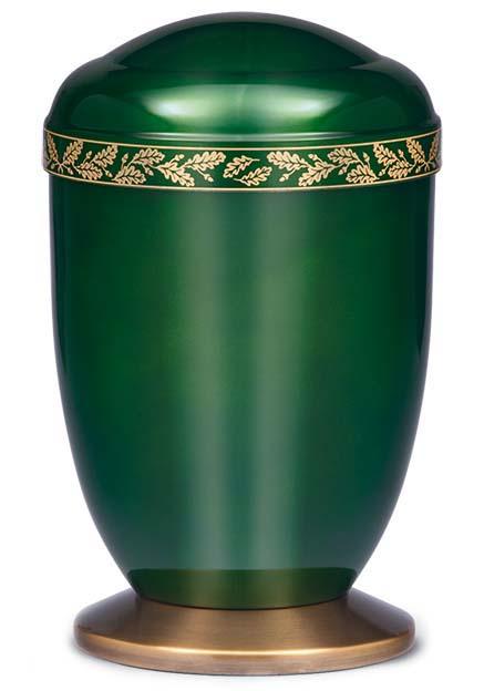 Design Urn Messing Sierrand Herfstblad (4 liter)