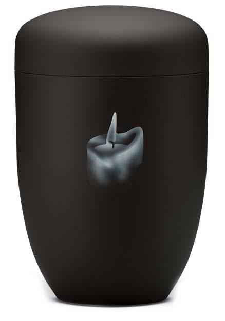 Design Urn Dovende Kaars Zwart (4 liter)