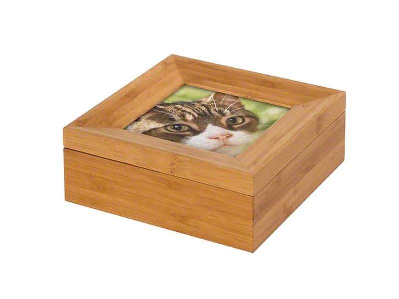 Tribute Memorybox Dierenurn met Fotolijst (0.6 liter)