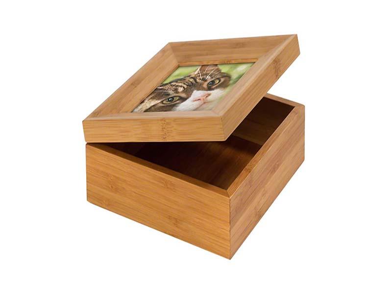Memorybox Dierenurn met Fotolijst (1.1 liter)