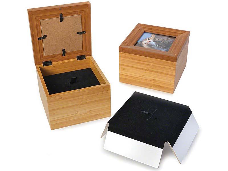 Tribute Memorybox Dierenurn met Fotolijst (1.7 liter)