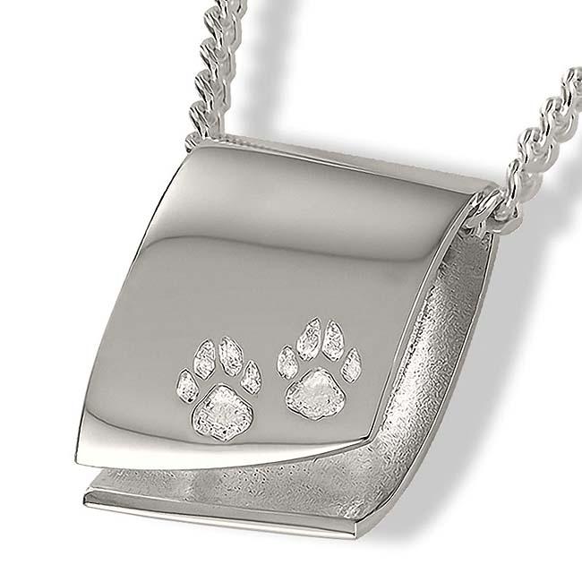 Design Assieraad Pootafdrukjes Zilver