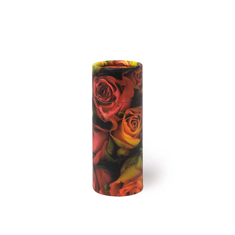 Mini Bio Eco Urn of As-strooikokertje Rozen (65 gram)