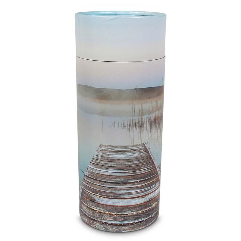 Grote Bio Eco Urn of As-strooikoker Verlaten Steiger (3 liter)