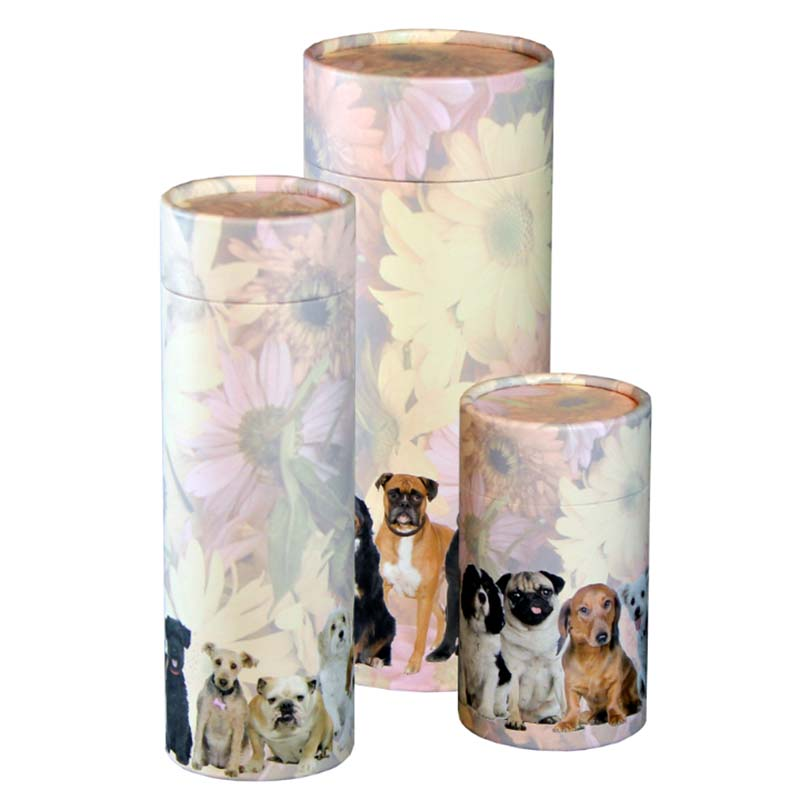 Mini Bio Eco Urn of As-strooikokertje Honden (65 gram)