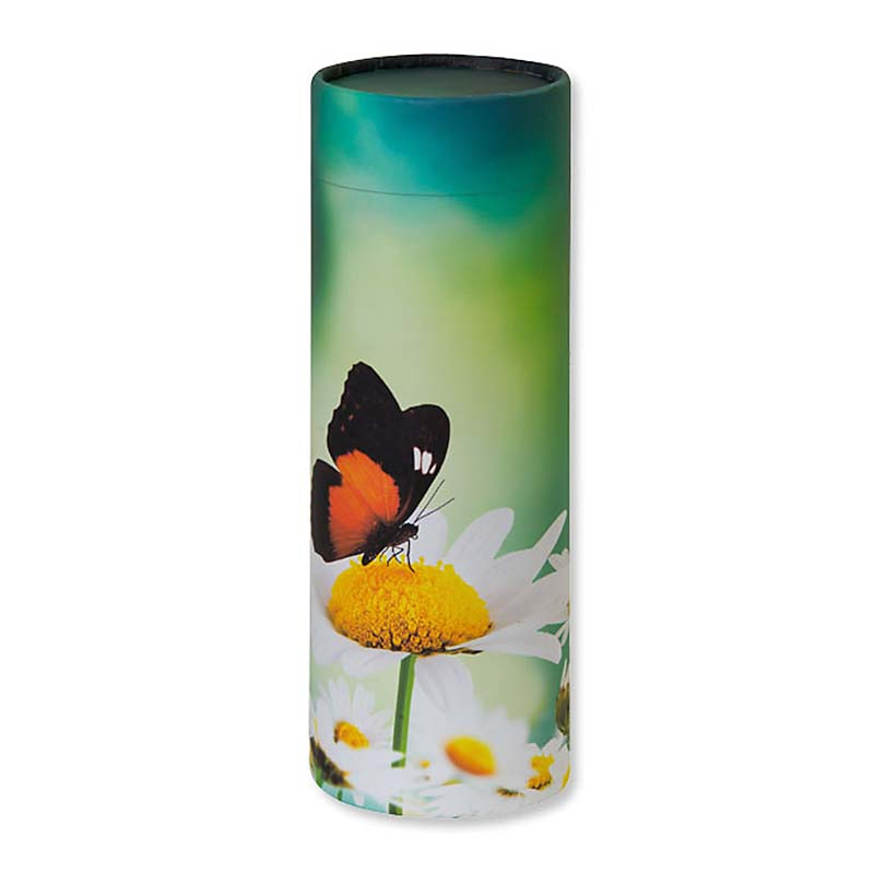 Grote Bio Eco Urn of As-strooikoker Vlinder (3.8 liter)