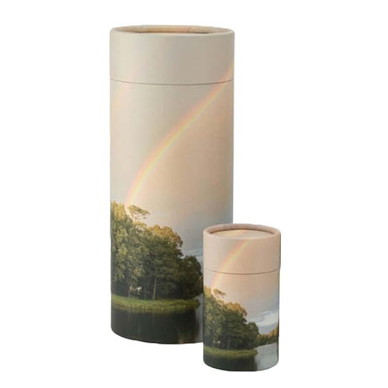 Grote Bio Eco Urn of As-strooikoker Regenboog (3.8 liter)