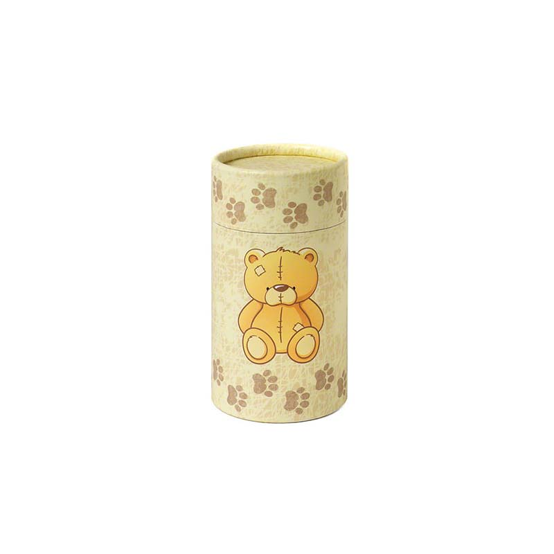 Kleine Bio Eco Urn of As-strooikoker Teddybear (0.38 liter)