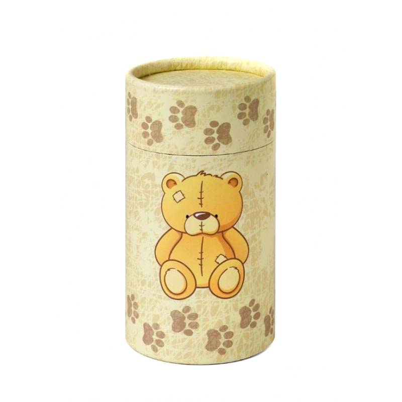 Middelgrote Bio Eco Urn of As-strooikoker Teddybear (0.7 liter)