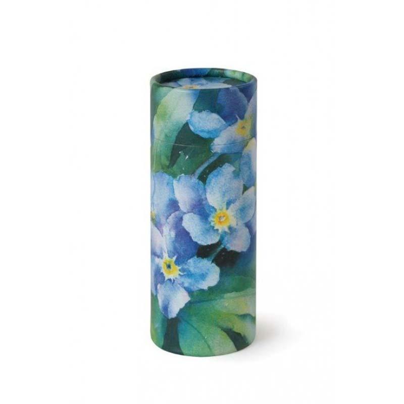 Mini Bio Eco Urn of As-strooikokertje Vergeet Mij Nietjes (65 gram)