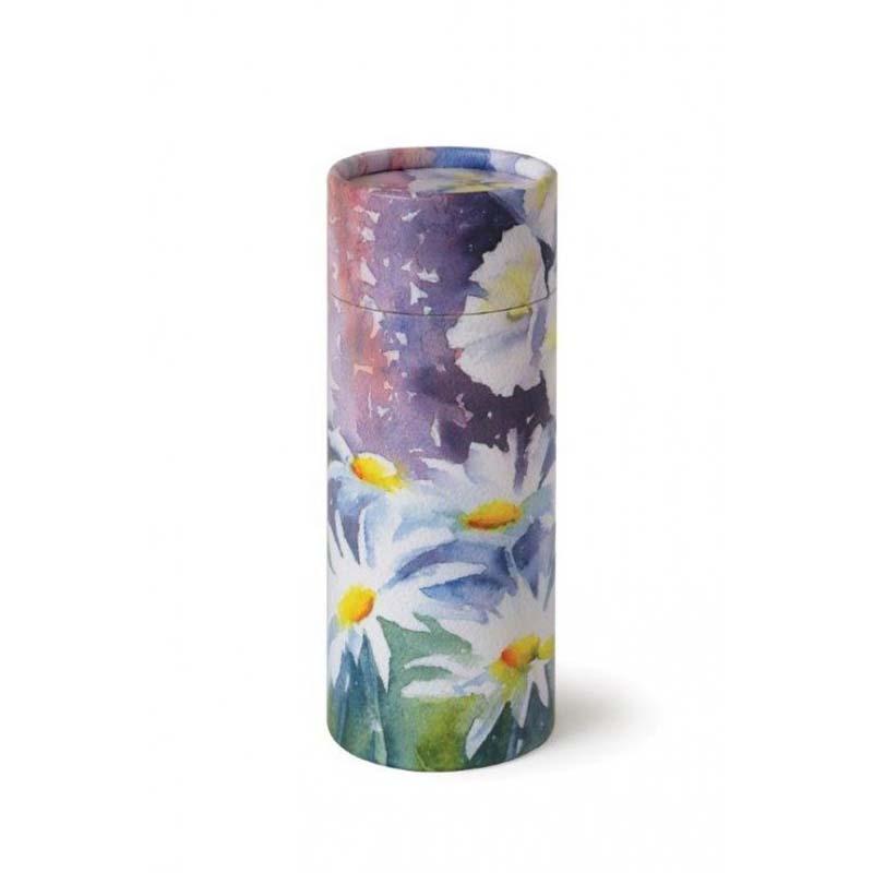 Mini Bio Eco Urn of As-strooikokertje Wilde Bloemen (65 gram)