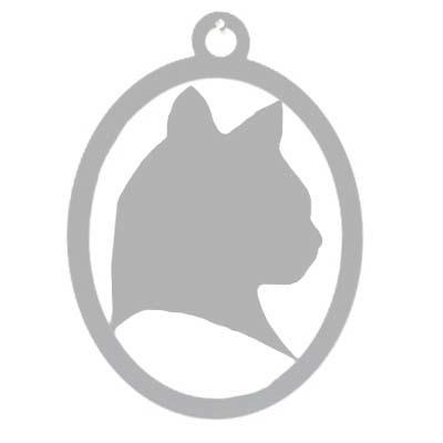 Kattenhoofd Wandprofiel uit Edelstaal