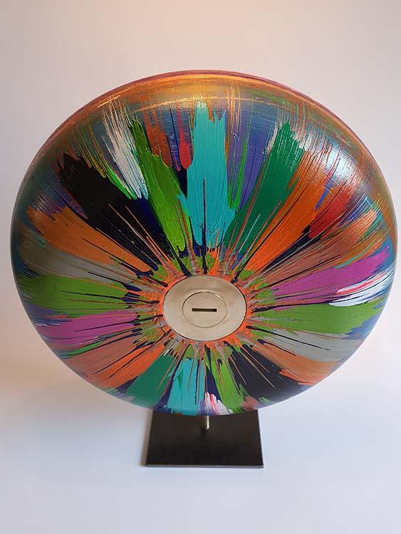 XL Most Colorful Design Urn op Sokkel (ca. 7.3 liter)