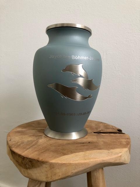 Foliegravure Voor-, Boven- of Achterkant Grote Urn