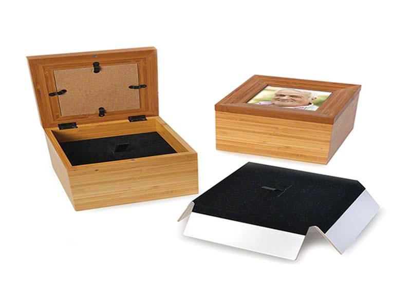 Memorybox Urn met Fotolijst (0.6 liter)