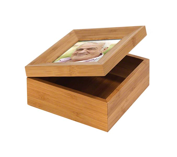 Memorybox Urn met Fotolijst (1.1 liter)