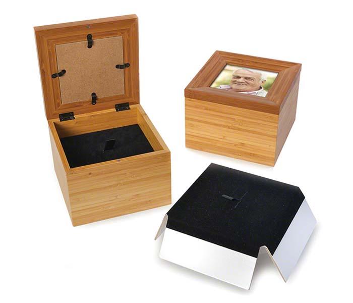 Memorybox Urn met Fotolijst (1.7 liter)