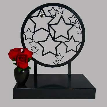 Grote Gedenkaltaar Urn Herinneringsterren (3 liter)