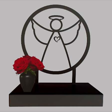 Grote Gedenkaltaar Urn Mijn Engeltje (3 liter)