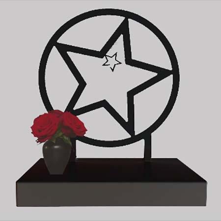 Middelgroot Gedenkaltaar Urn Sterretje (1.8 liter)