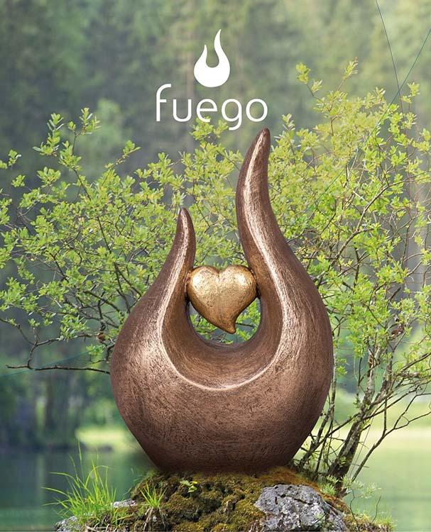 Grote Keramische Fuego Urn Hartepijn (2.7 liter)