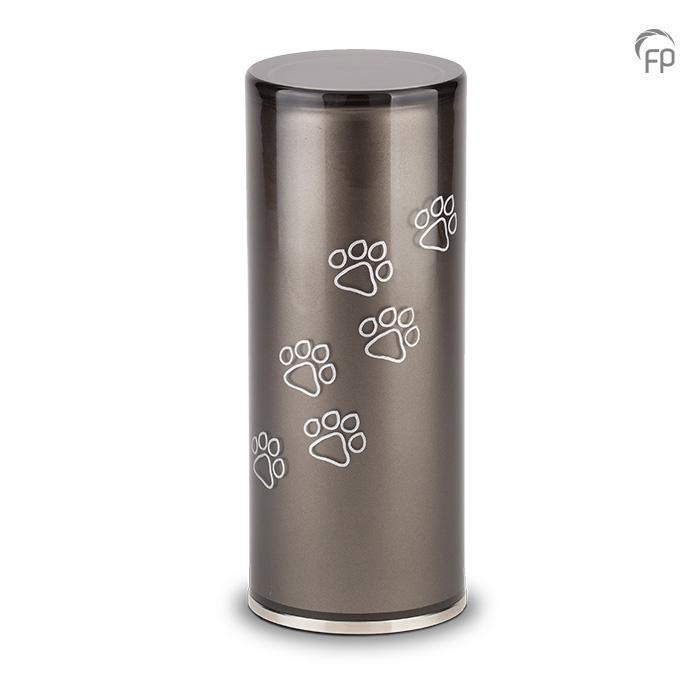 Medium Kristalglazen Cilinder Dierenurn (1 liter)
