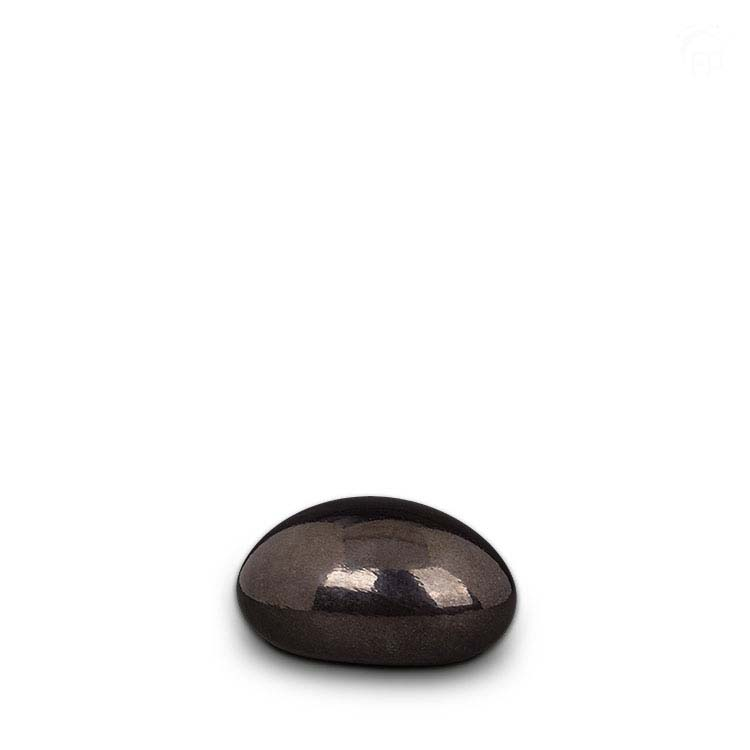 Mediumgrote Kristalglazen Lavasteen Dierenurn (1.5 liter)