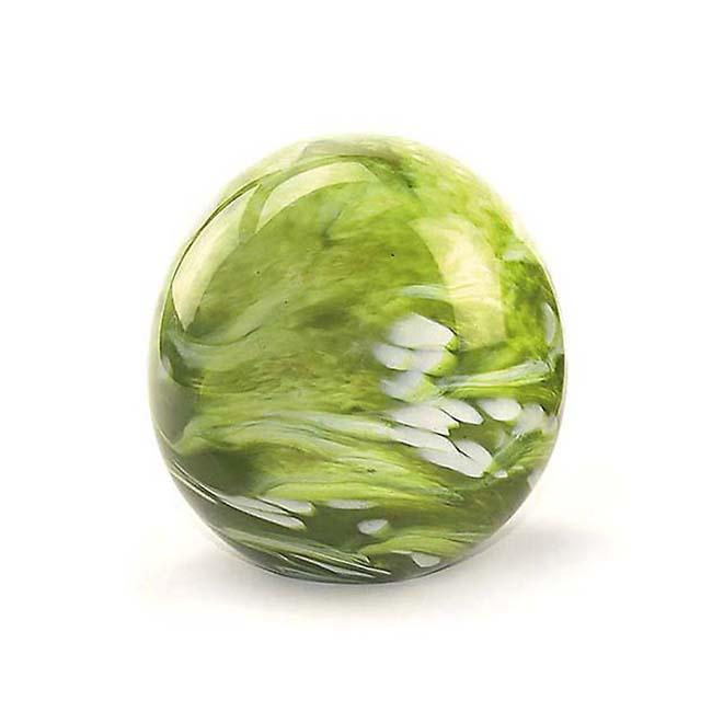 Kleine Kristalglazen Bol Urn Elan Marble Green (0.5 liter)