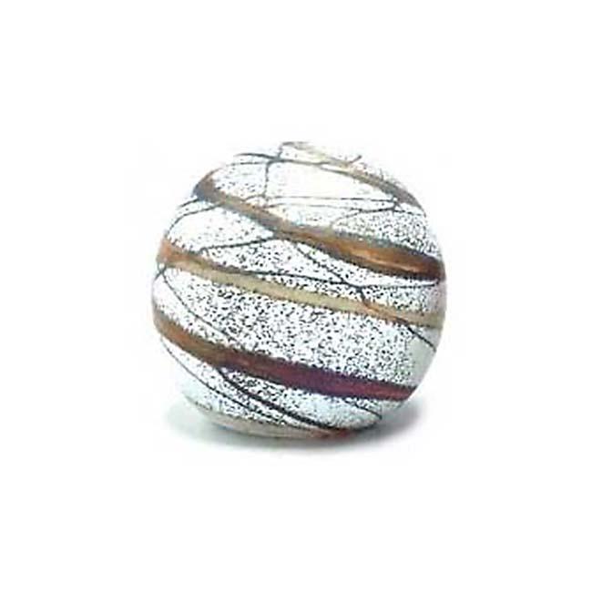 Kristalglazen Mini Bol Urn Elan Bulb Terra (0.1 liter)