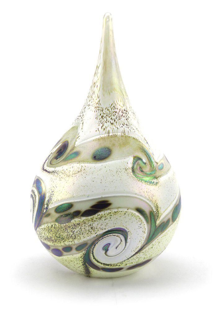 Grote Kristalglazen Traan Urn Elan Ivory (1.6 liter)